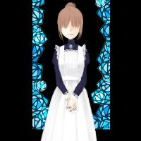 白薔薇とメイド