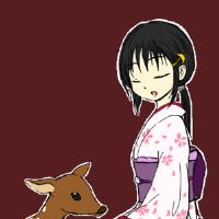 桜子と鹿の子