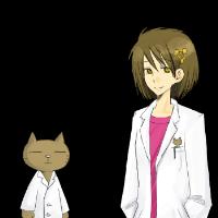 博士とクロウ